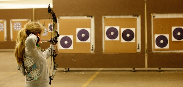 Archery Range Open Shooting